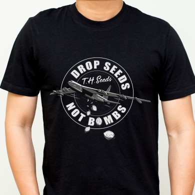 Men's Drop Seeds Not Bombs T-shirt